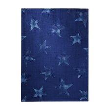 Teppich Cosmic Glamour in Blau