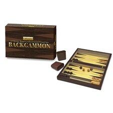 Premier Wooden Backgammon