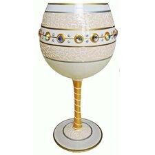 Bride-Balloon Wine Glass