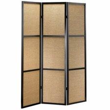 "70"" x 52"" Haiku Folding 3 Panel Room Divider"