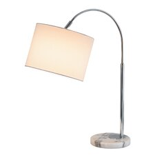 """Grace 23.5"""" H Table Lamp with Drum Shade"""