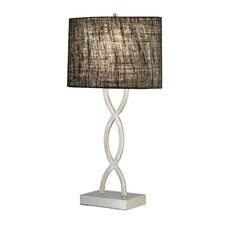 "Juliette 28.5"" H Table Lamp with Drum Shade"