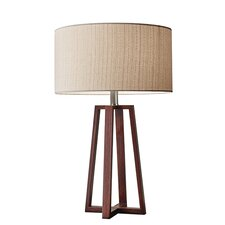 "Quinn 23.75"" H Table Lamp with Drum Shade"