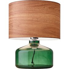 "Jade 14.5"" H Table Lamp with Drum Shade"