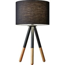 """Louise 21.5"""" H Table Lamp with Drum Shade"""