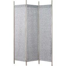 """70"""" x 17.5"""" Rita 3 Panel Folding Room Divider"""