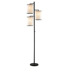 Bellows 3 Light Floor Lamp