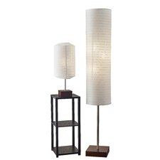Gyoza 2 Piece Table and Floor Lamp Set