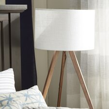 "Bryce 25"" H Table Lamp with Drum Shade"