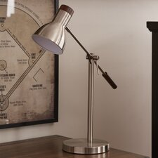 "Watson 24.5"" H Table Lamp with Bell Shade"