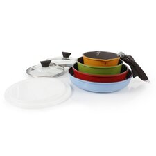 Midas 9 Piece Cast Aluminum Cookware Set