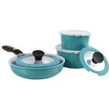 Midas Plus 14 Piece Cast Aluminum Cookware Set