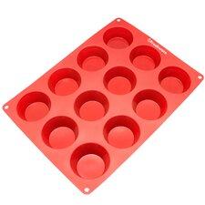 12 Cavity Silicone Mold Pan