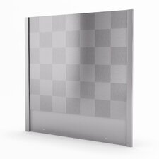 """Cube Real 29.94"""" x 30"""" Stainless Steel Back Splash"""