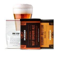 2 Gal Ye Olde Devil Nut Brown Ale Plus Refill Kit