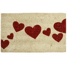 Hearts Entrance Doormat