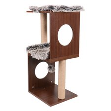 "34"" Two Level Cat Tree"