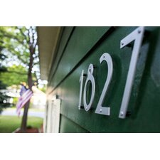 "6"" Aluminum Noble House Number"