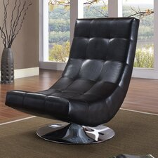 Swivel Tufted Accent Chair