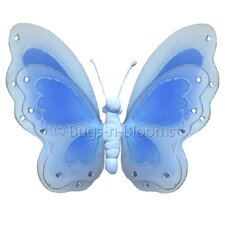Butterfly Hanging Painted Nylon 3D Wall Decor
