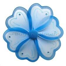 Flower Hanging Painted Nylon 3D Wall Decor