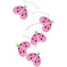 Ladybug Shimmer Nylon Hanging Mobile