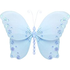 Butterfly Hanging Twinkle Nylon 3D Wall Décor