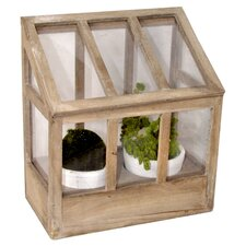 3 Piece Greenhouse and Pot Set