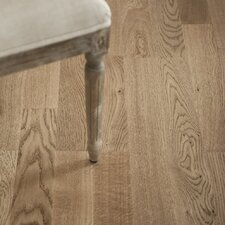 "7"" Engineered White Oak Hardwood Flooring in Terra"