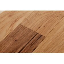 River's Edge Hickory 5 Inch Wide Plank Flooring in Hawk Brown