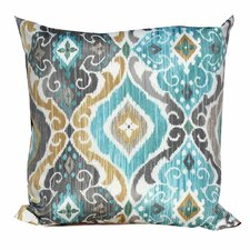 Persian Mist Outdoor Throw Pillows Square 18x18 (Set of 2)