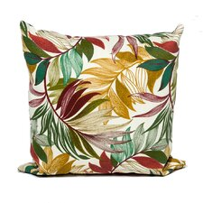 Sesame Palm Outdoor Throw Pillows Square 18x18 (Set of 2) (Set of 2)