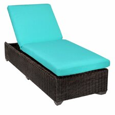 Venice Chaise Lounge with Cushion