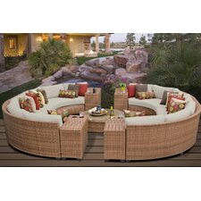Laguna 11 Piece Seating Group with Cushion