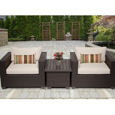 Belle 3 Piece Seating Group with Cushion