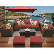 Venice 8 Piece Seating Group with Cushion