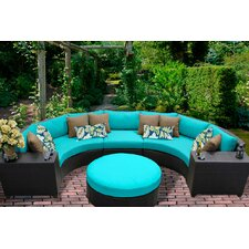 Barbados 6 Piece Seating Group with Cushion