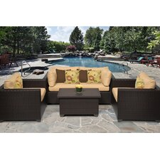 Belle 5 Piece Seating Group with Cushion