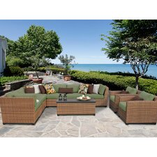Laguna 10 Piece Seating Group with Cushion