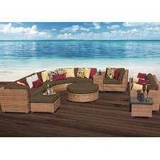 Laguna 12 Piece Deep Seating Group with Cushion