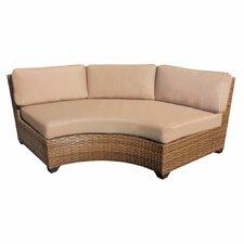 Laguna Curved Sofa with Cushions