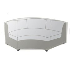 Outdoor Protective Cover for Oversized Wicker Curved Armless Sofa