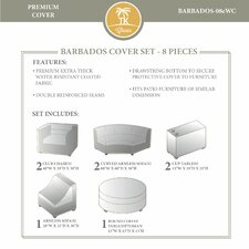 Barbados 8 Piece Winter Cover Set