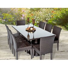 Napa 9 Piece Dining Set