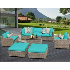 Monterey 8 Piece Deep Seating Group with Cushion
