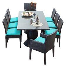Napa 9 Piece Dining Set with Cushion