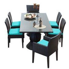 Napa 7 Piece Dining Set with Cushion