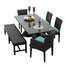 Napa 6 Piece Dining Set with Cushion