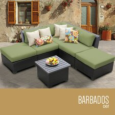 Barbados 6 Piece Deep Seating Group with Cushion