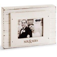 Wedding Mr. & Mrs. Block Picture Frame